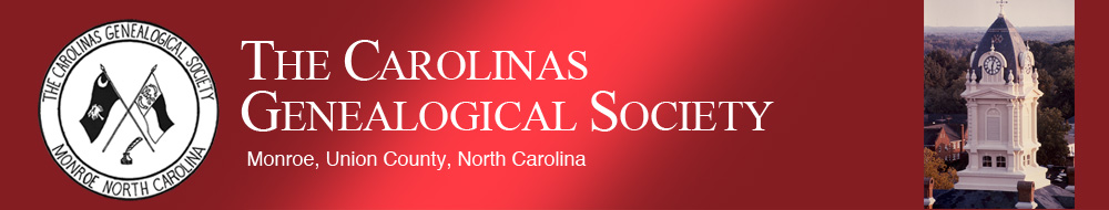 Carolinas Genealogical Society
