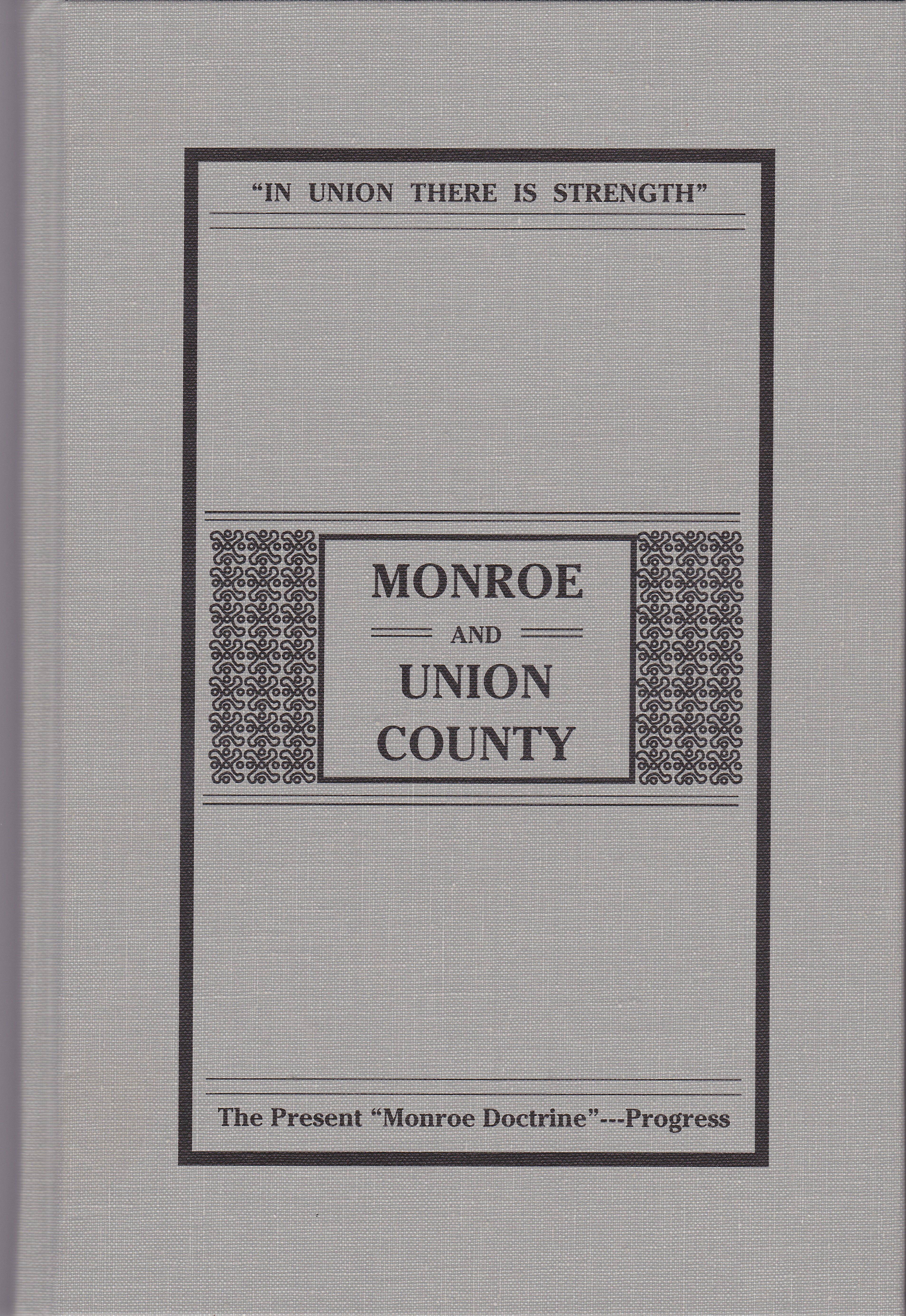 Sketches of Monroe and Union Co.